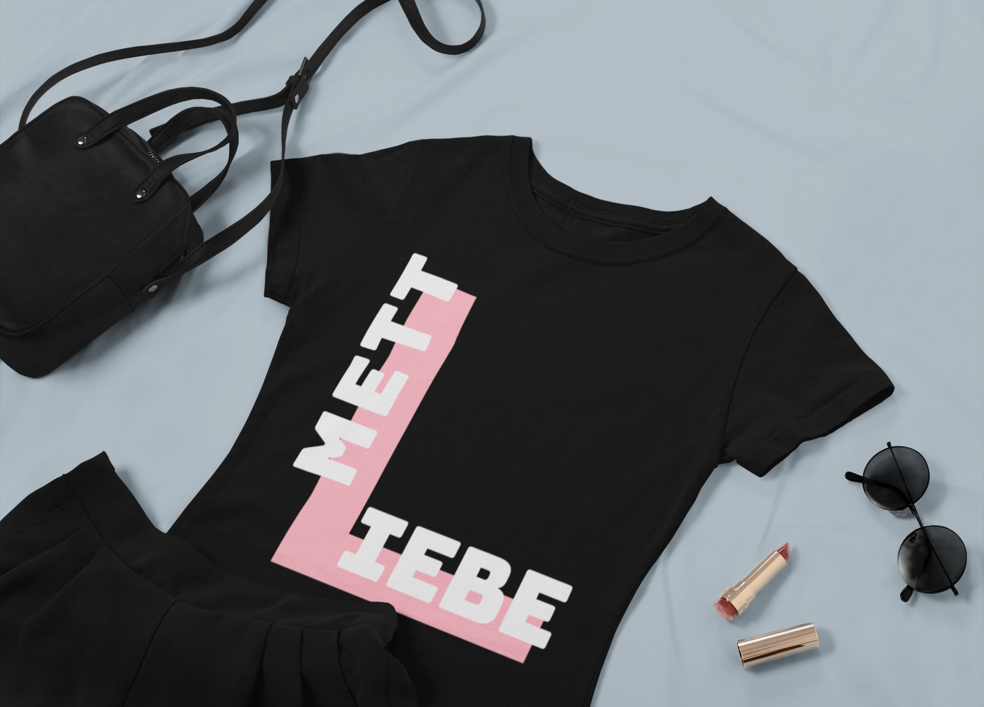 Mett Liebe Shirt Frauen