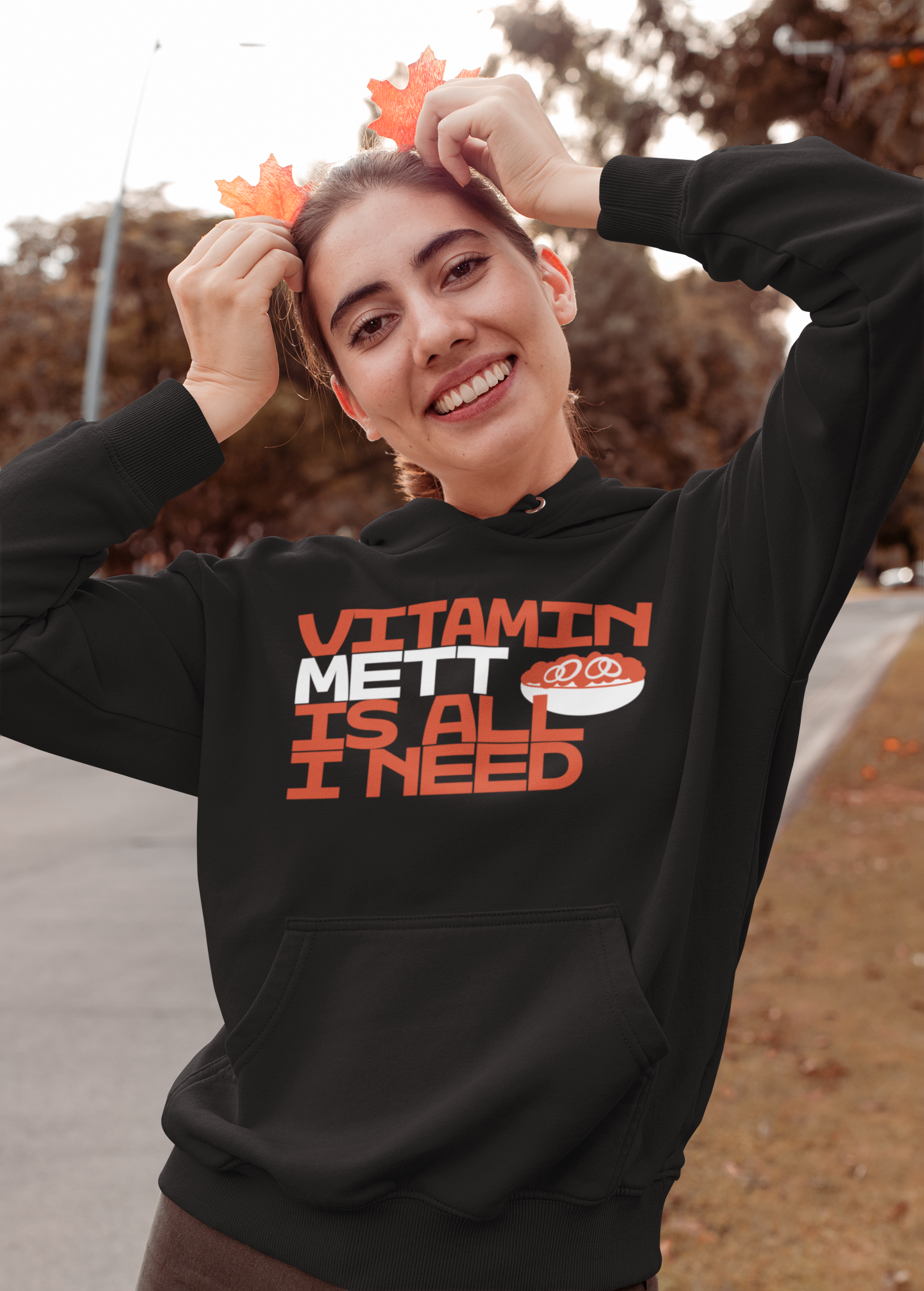 Vitamin Mett is all I need - Frauen Mett Pulli